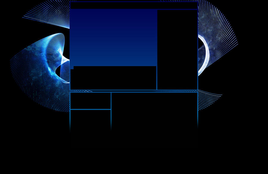 Blue Spiral Youtube Background