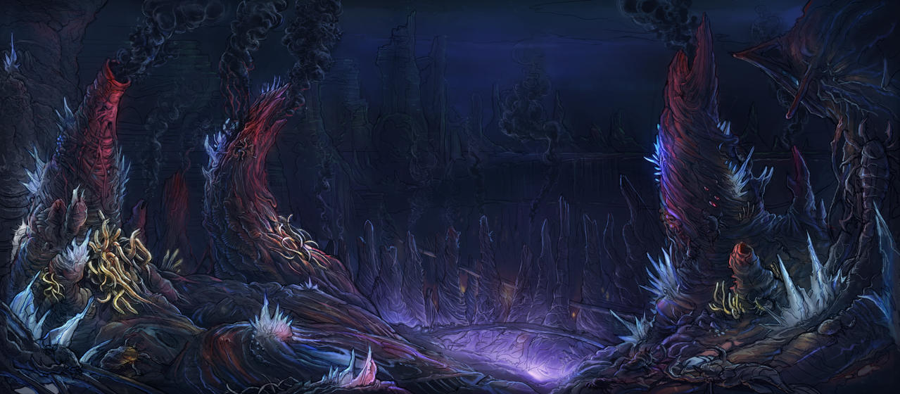Hydrothermal Vents - Deepwars by Carpet-Crawler