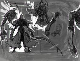 Wraith - Status Screen Rough Concept