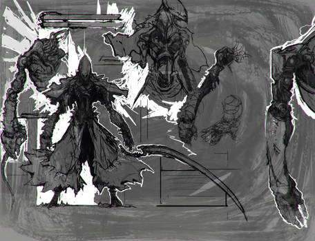 Wraith - Status Screen Rough Concept