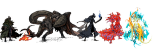 Patreon Reward Tier Illustrations by Carpet-Crawler