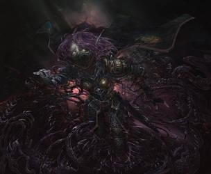 Kaliragoth Sin'Danar - Commission work! by Carpet-Crawler