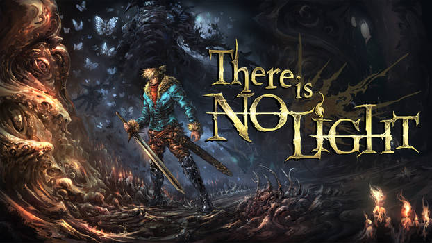 There is no Light - Promo art