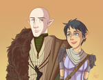 DA:I - Solas and Lavellan
