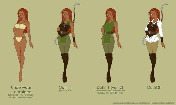 DnD: Leena Tornala Outfit Design