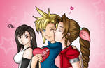 FF7 Love Triangle