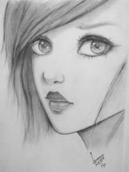 Pencil Sketch by irfanwasiq