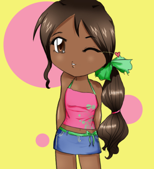 Dark Skinned Anime Characters Ultimate Dark Skin Anime