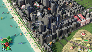 Welcome to Sunlight city. 3d map