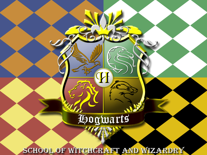 Gryffindor House Crest Coloring Page