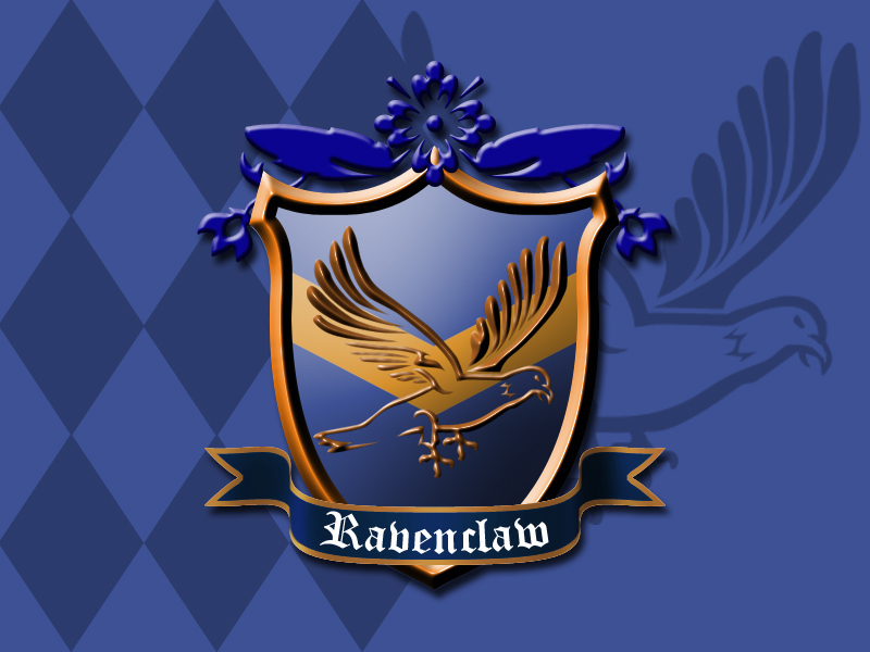 Ravenclaw House Crest by ajb3art on DeviantArt