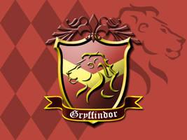 Gryffindor House Crest by ajb3art