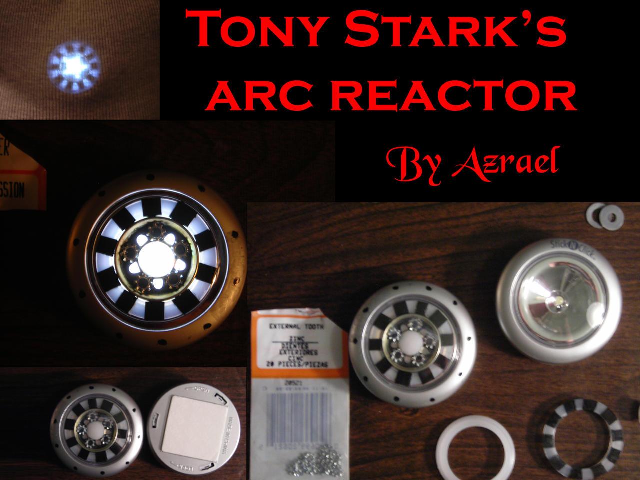 Tony Stark's Arc Reactor by ajb3art on DeviantArt