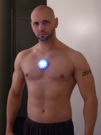 Arc Reactor Applied To Chest By Ajb3art ...