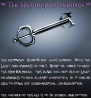 Riku's Keyblade by ajb3art