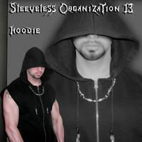 Sleeveless Organization Hoodie by ajb3art