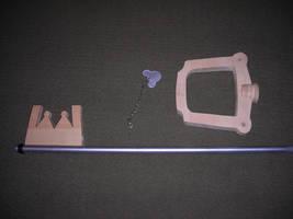 Kingdom key WIP2 by ajb3art
