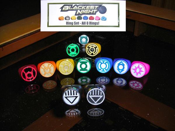 Green Lantern Rings Modded by ajb3art on DeviantArt Indigo Lantern Ring