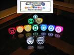 Green Lantern Rings Modded