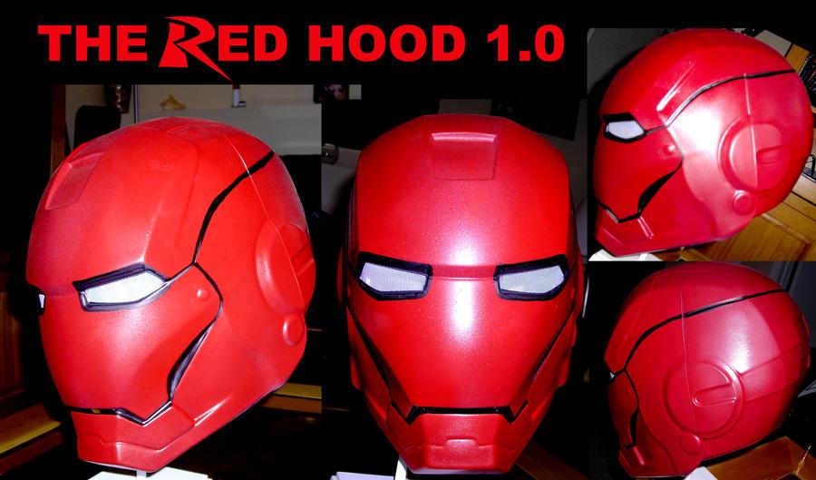 The Red Hood Helmet v1 by ajb3art