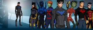 Young Justice season2 NIGHTWING and more by ajb3art