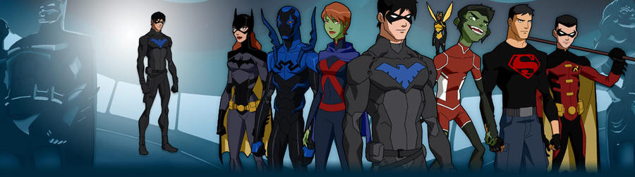 Young justice season2 nightwing and more by ajb3art on deviantart - Pictures of nightwing from young justice ...