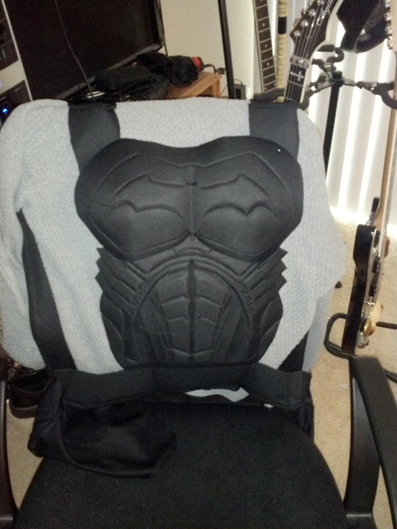 Batman Rubies Foam Armor For Red Hood Costume Wip By