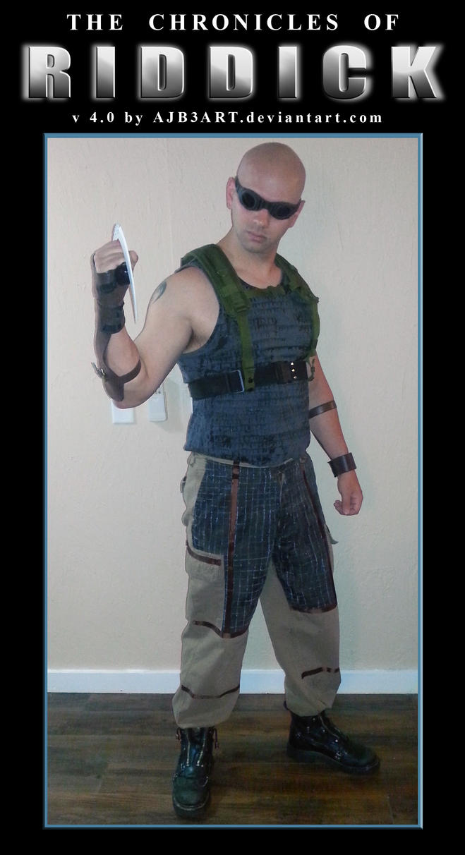 Riddick Chronicles Costume v4 by ajb3art