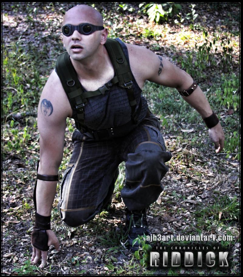 Riddick Kneeling 1 by ajb3art