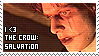 The Crow: Salvation stamp by infinityexplorer