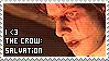 The Crow: Salvation stamp by infinityexplorer