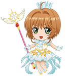 [vector] Chibi Sakura