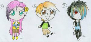 Anime Chibis-Draw 2 adopt.:Closed:.