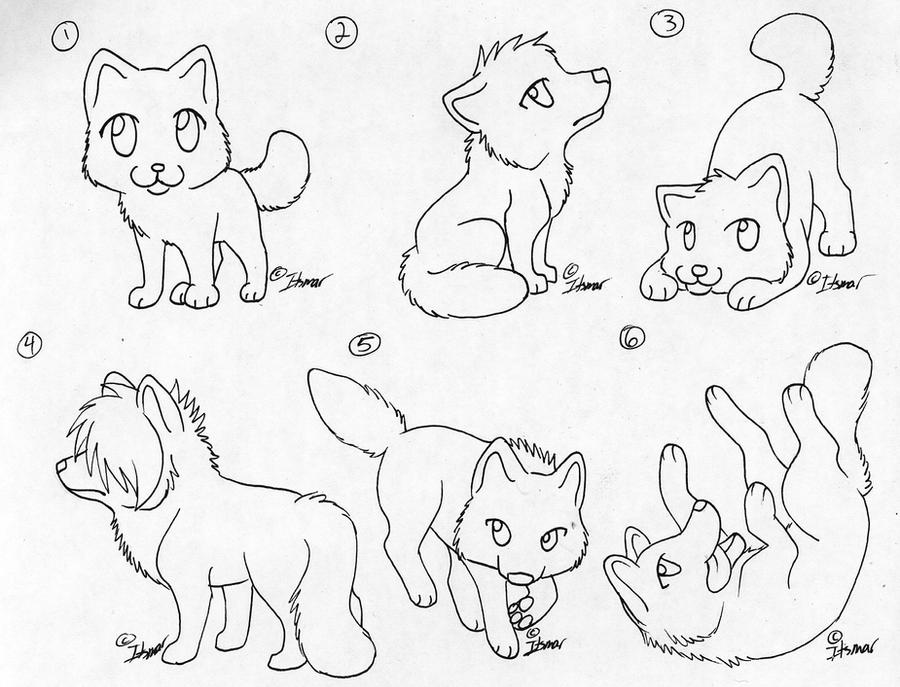 pack of dogs coloring pages - photo#29