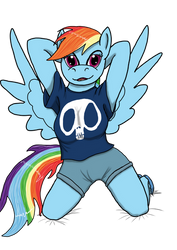 Anthro Dash by LizardWithHat
