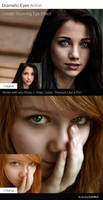 Dramatic Eyes Action by Blacklovefly