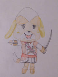 Assassins creed Isabelle by Groombro