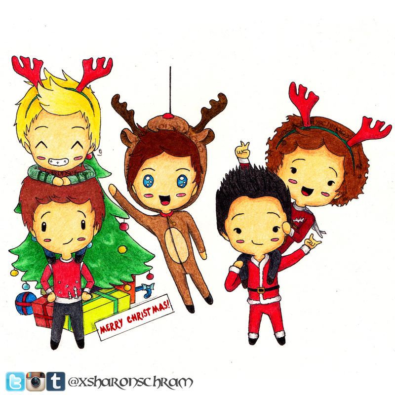 One direction christmas 2 by sharsel on deviantart one direction christmas 2 by sharsel voltagebd Choice Image