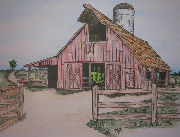 OLD BARN IN COLOR By Uncledave