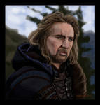 Portrait of Nicolas Cage