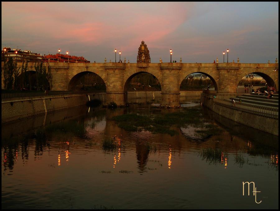Puente de Toledo. Madrid.