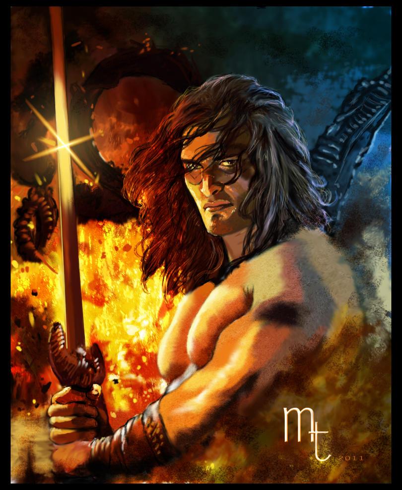 Conan the Barbarian by ~turkill
