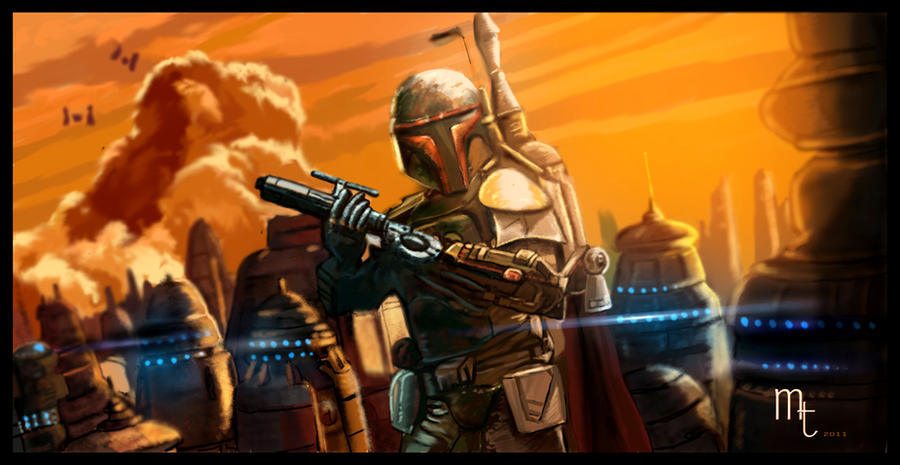 Boba Fett. Cloud City by turkill
