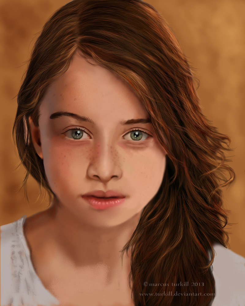 Raffey Cassidy by turkill