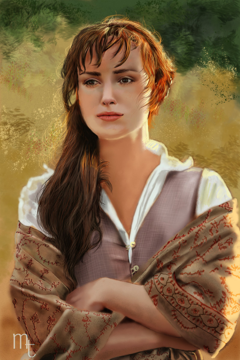 keira knightley by turkill