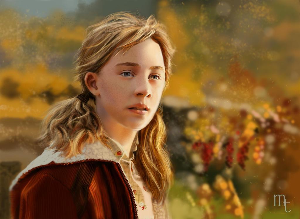 Saoirse Ronan by turkill