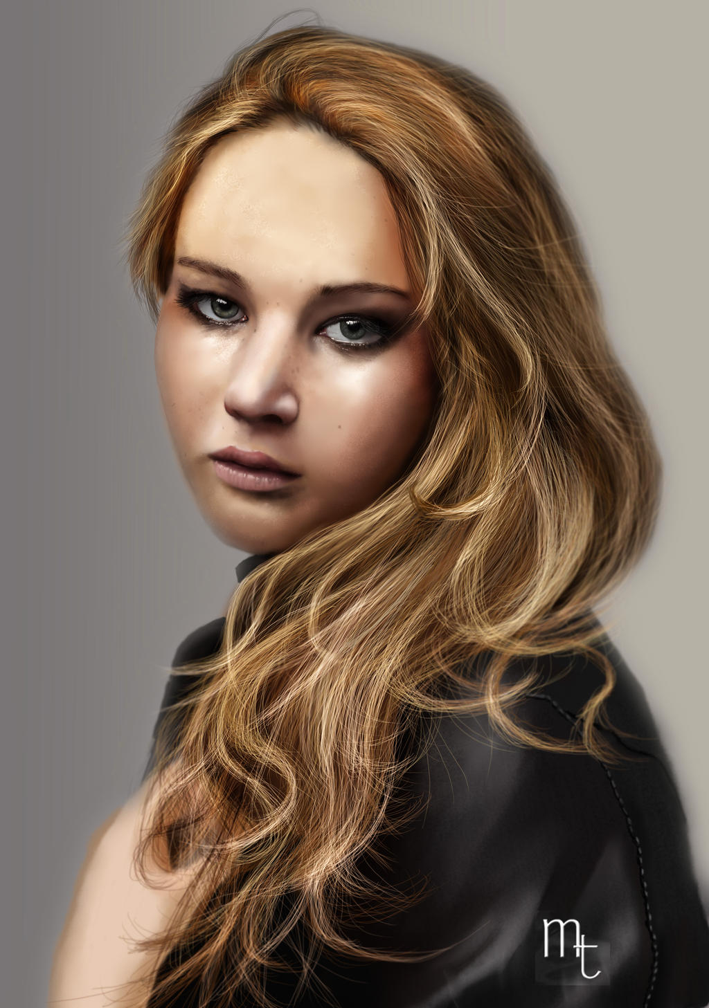 Jennifer Lawrence by turkill