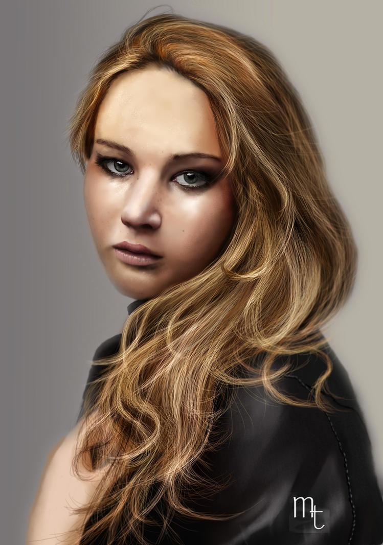 Jennifer Lawrence by turkill