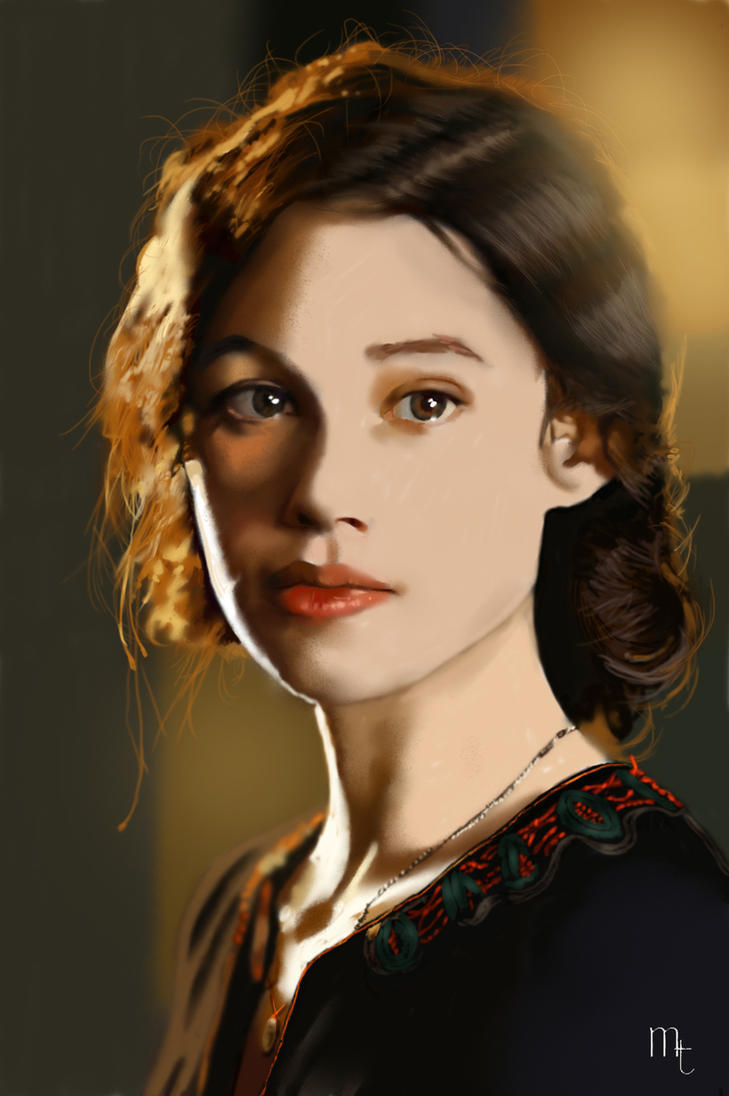 Astrid Berges-Frisbey portrait by turkill