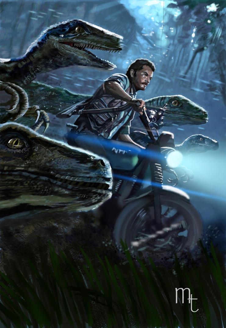 Raptor Squad Jurassic World By Turkill